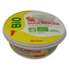 AUCHAN BIO Mascarpone 250g