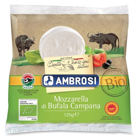 Mozzarella Di Bufala Ambrosi Bio - 125g