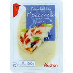 AUCHAN : Tranchettes Mozzarella