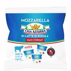 Azzura mozzarela di buffala x3 -300g