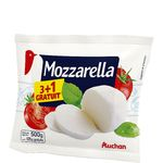 Auchan mozzarella 3x125g