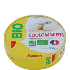 Auchan coulommiers bio 350g