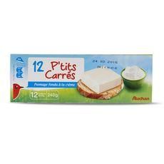 Auchan p'tits carrés x12 -240g
