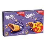 Milka Biscuit Tender Choco Break goût tout choco le boites de 156 g