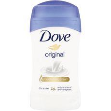 DOVE Original Déodorant femme stick antibactérien 40ml