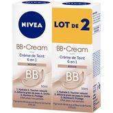 Nivea bb crème médium 2x50ml