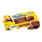 Nestlé Laitiere petit pot de crème chocolat 8x100g