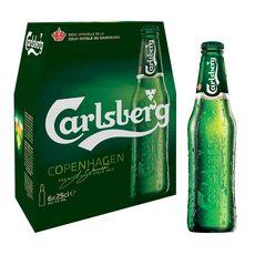 Carlsberg bière blonde 5° -6x25cl