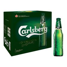 Carlsberg bière blonde 5° -12x25cl