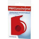 Mercurochrome sparadrap microporeux 5mx2,5cm