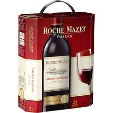 ROCHE MAZET IGP Pays-d'Oc Cabernet-sauvignon cuvée spéciale rouge Bib 3L