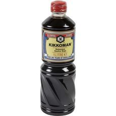 KIKKOMAN Sauce soja en bouteille  1l