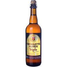 LA CHOULETTE Bière blonde triple artisanale 8,5% 75cl