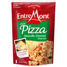 ENTREMONT Emmental râpé spécial pizza 125g