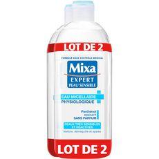Mixa expert eau micellaire apaisante 2x400ml