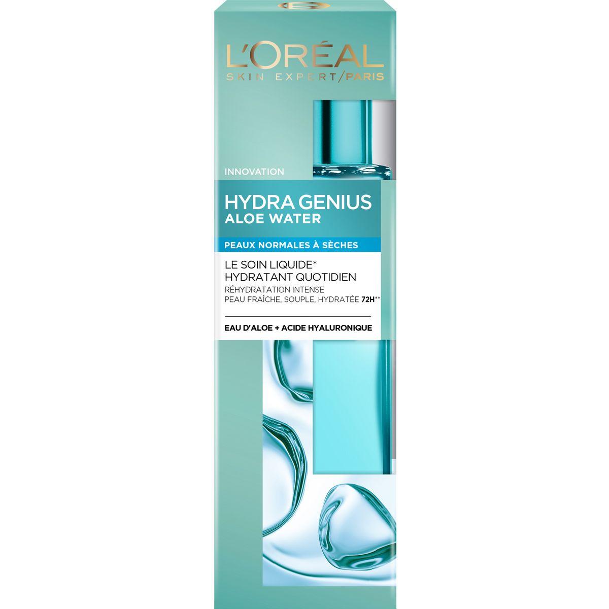 L'Oréal Hydra Genius soin liquide hydratant peaux normales à sèches 70ml