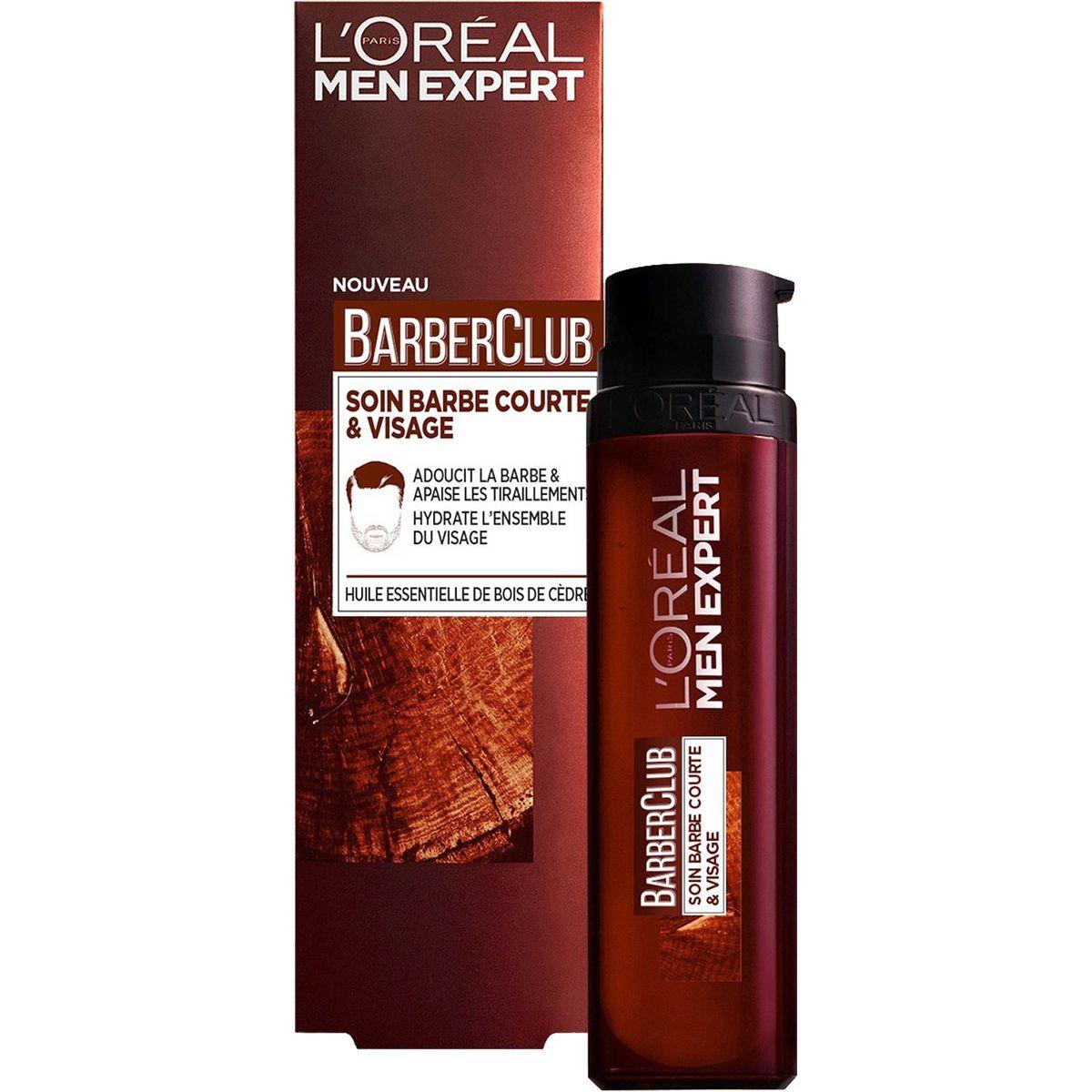 L'Oréal Barber Club soin barbe courte et visage 50ml