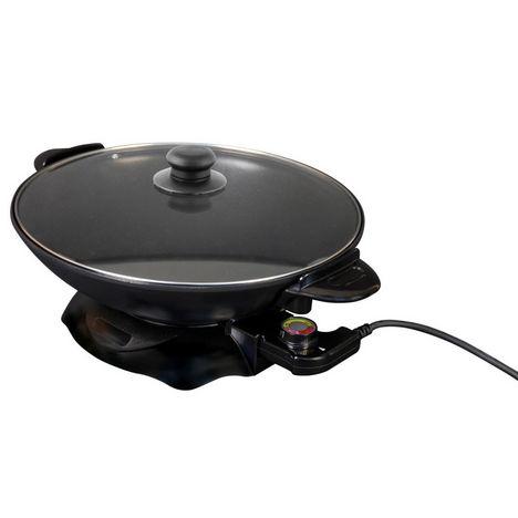 SILVERSTYLE Cuisine du monde 268 Wok  Noir 4.5L 1500W