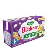 Blédina Blédîner lait courgette 2x120 ml dès 6 mois