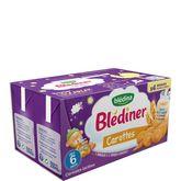 Blédina Blédîner lait aux légumes carottes 4x250ml dès 6 mois