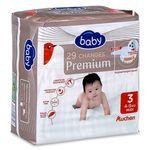 Auchan baby change premium 4/9kg x29 taille 3
