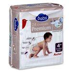 Auchan baby change premium maxi 7/18kg x24 taille 4