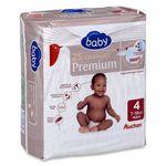 Auchan baby change premium 7-18kg x25 taille 4