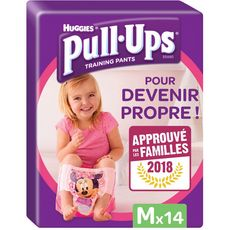 Huggies Pull-Ups culottes d'apprentissage filles taille 5 (11-18kg) x14