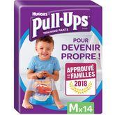 Huggies Pull-Ups garçon Taille M x14 couches-culottes
