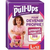 Huggies Pull-Ups fille Taille L x16 couches-culottes