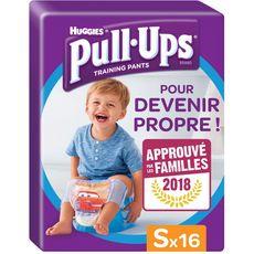 Huggies Pull-Ups culottes d'apprentissage garçons taille 4 (8-15kg) x16