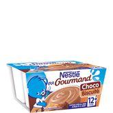 Nestlé p'tit gourmand choco biscuit 4x100g dès 12 mois