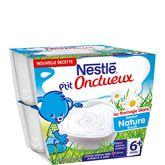 Nestlé p'tit onctueux fromage blanc sucré 8x100g dès 6 mois