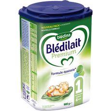 BLEDINA Blédina Blédilait Premium lait 1er âge en poudre dès la naissance 900g 900g