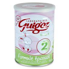 GUIGOZ Guigoz Lait 2ème âge épaissi en poudre dès 6 mois 820g 820g