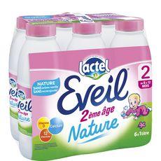 LACTEL Lactel Eveil 2 lait 2ème âge liquide de 6 à 12 mois 6x1l 6x1l