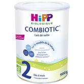 HiPP lait 2ème âge boîte 900g dès 6 mois