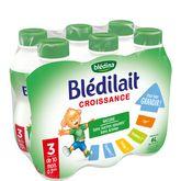 Blédina 3 croissance bouteille 6x1l de 10 mois à 3 ans
