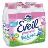 Lactel Lactel Eveil 3 lait de croissance liquide nature de 10 mois à 3 ans 6x1l