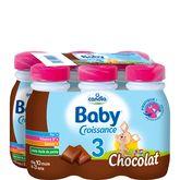 Candia croissance chocolat 6x25cl dès 10 mois