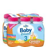 Candia baby croissance céréales 6x25cl de 10 mois à 3 ans