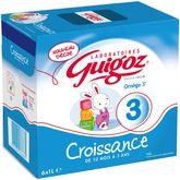 Guigoz 3 lait croissance 10 à 36 mois 6x1l