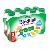 Blédina blédilait croissance 8x1l de10mois à 3ans