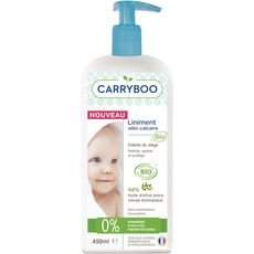 CARRYBOO Liniment oléo-calcaire à l'huile d'olive extra vierge bio 450ml