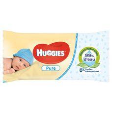 Huggies Pure lingettes nettoyantes pour bébé x56