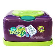 Kandoo Boîte rechargeable de lingettes nettoyantes au melon pour bébé x55
