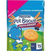 Nestlé ptit biscuit fruits rouges 150g