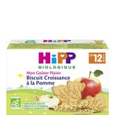 HiPP mon goûter biscuit croissance pomme 150g dès 12mois