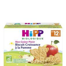 Hipp Mon goûter plaisir biscuit croissance à la pomme bio dès 12 mois 150g