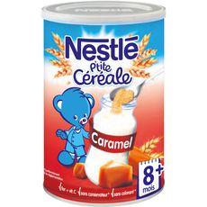 NESTLE Nestlé p'tite céréale caramel 400g dès 8mois